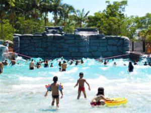 03 Clube e Park Rincão Lazer em Parelheiros piscina de ondas para crianças www.portalnossobairro.com.br